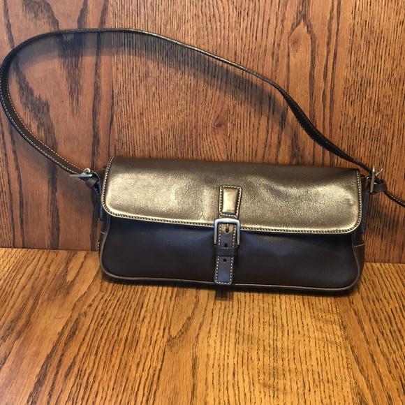 Coach Brown Leather Shoulder Bag/Purse
